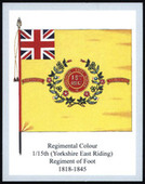 Infantry Regimental Colours The East Yorkshire Regiment 2nd Series 2011