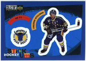 Swedish Hockey League Stickers 1997-98