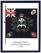 Infantry Regimental Colours The Royal Welch Fusiliers 2nd Series 2011