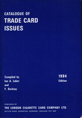 Trade Card Catalogue 1984 Edition