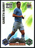 Match Attax Extra 2009/10 Man of The Match (Orange back) 2010