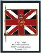 Infantry Regimental Colours The Devonshire Regiment 2nd Series 2012