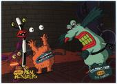 Aaahh! Real Monsters Colouring Cards 1995