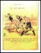 The Sporting Art of Amos Ramsbottom 1900s Set 6 Rugby League 2012