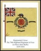 Infantry Regimental Colours The Seaforth Highlanders 3rd Series 2012