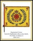 Infantry Regimental Colours The Seaforth Highlanders 2nd Series 2012