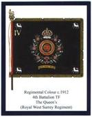 Infantry Regimental Colours The Queens Royal Regiment (West Surrey) 2nd Series 2012