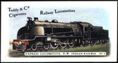 Railway Locomotives (Clown Cigarettes back) 1980