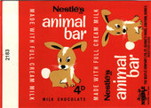 Animal Bar (Wrappers) 1970