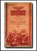 Speedway Programme Covers 3rd Series More Early Years 1920/30s (2003)