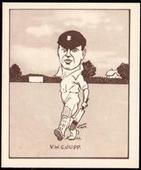Caricatures of Famous Cricketers 1926