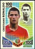 Match Attax World Cup 2010 100 Club (Red back foil fronts) 2010