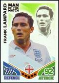 Match Attax World Cup 2010 Man of the Match (Red back foil fronts) 2010
