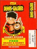 Dandy / Beano Collection Empty Candy Sticks Packets with Wall Chart/x-Ray Specs offer 1989