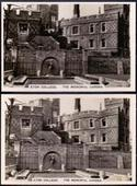 Sights of Britain 2nd Series (Large Caption) The error and corrected cards of number 14 1936
