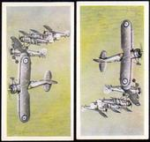 Britains Defences 1938 The error and corrected cards of number 47
