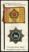 Badges and Flags of British Regiments Green Back 1903